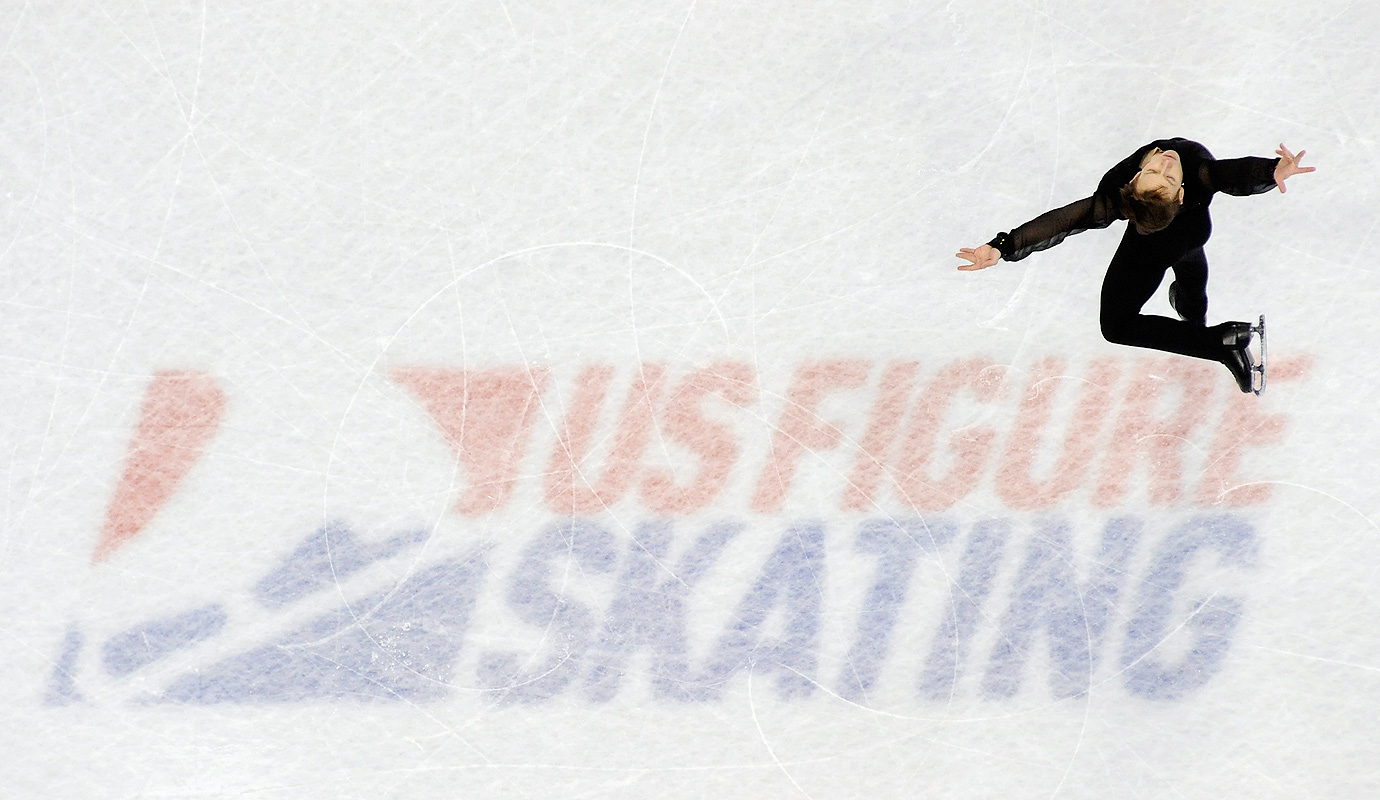 Grant Hochstein competes in the Free Skate at the 2016 Prudential U.S. Figure Skating Championship at Xcel Energy Center in St Paul, Minn.