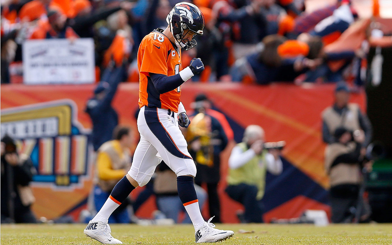 Peyton Manning is headed to his fourth Super Bowl and second with the Broncos.