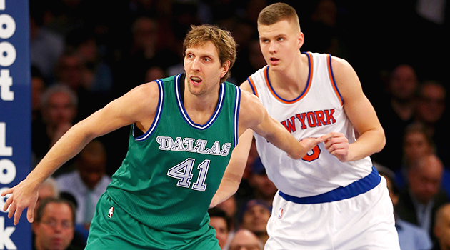 New York Knicks Dallas Mavericks Kristaps Porzingis