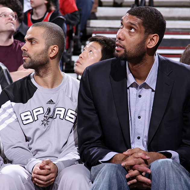 tim duncan warriors spurs injury out
