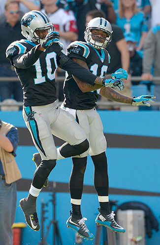 Brown (left) and Ginn.