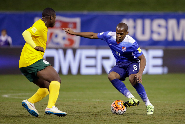 Darlington Nagbe takes aim at a bigger role with the U.S. men's national team.