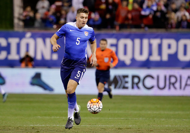 Matt Besler anchors the USA's defense in January Camp