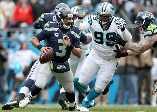 Short terrorized Russell Wilson in the Divisional Playoffs, as Carolina dethroned the two-time defending NFC champs.