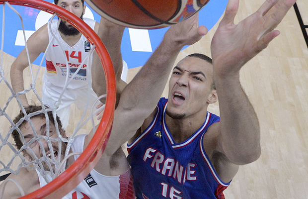 Rudy Gobert Utah Jazz France National Team Sports Illustrated