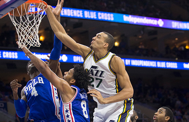 Image result for utah jazz rudy gobert