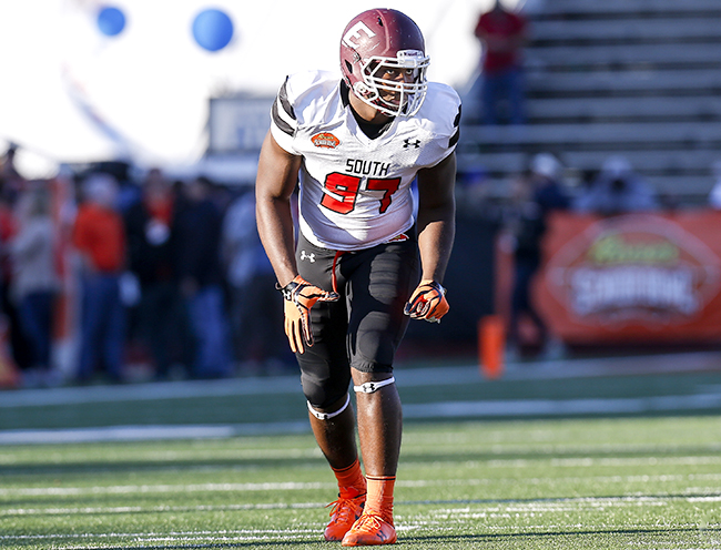 No way Noah Spence is still around late in the first round, right? RIGHT?