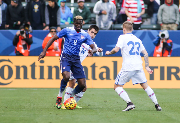 Gyasi Zardes could have shown more for the U.S. during its January camp