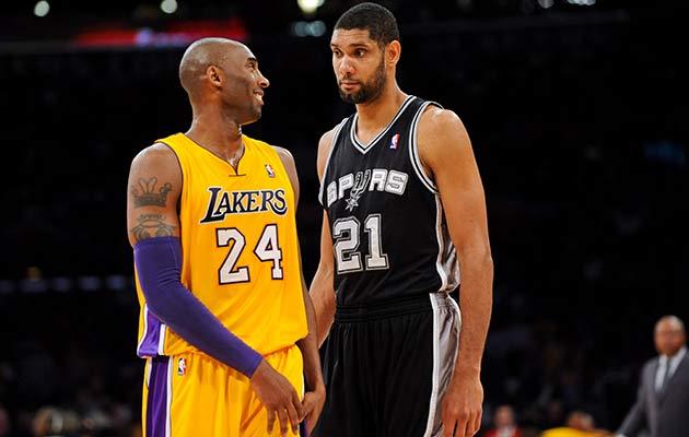 Kobe Bryant; Tim Duncan