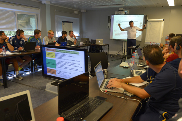 MLS coaches learn from the French football federation