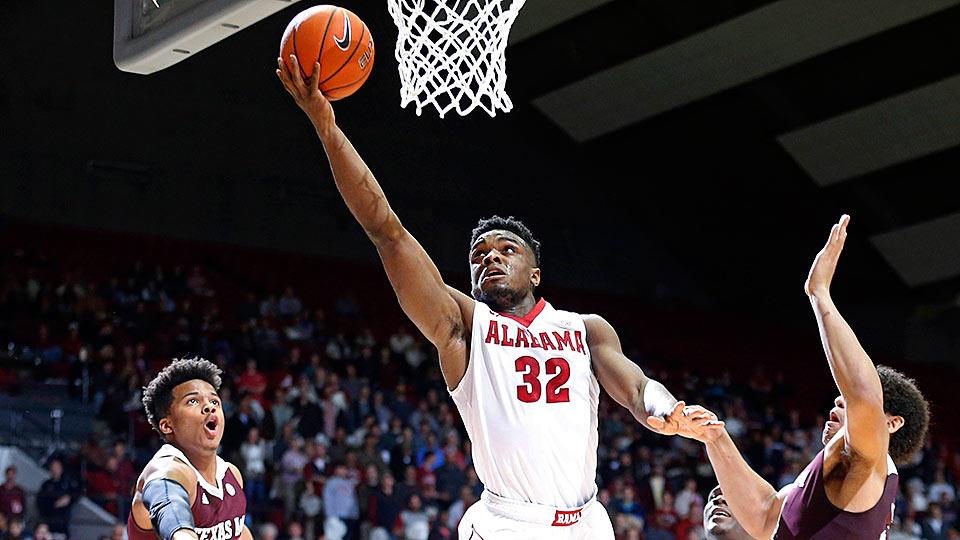 Image result for Texas vs Alabama basketball pic