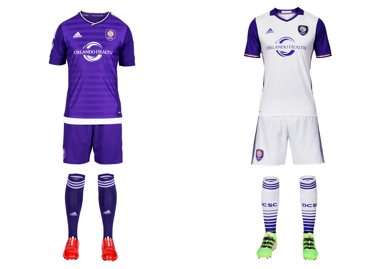 Orlando City SC's 2016 MLS uniforms
