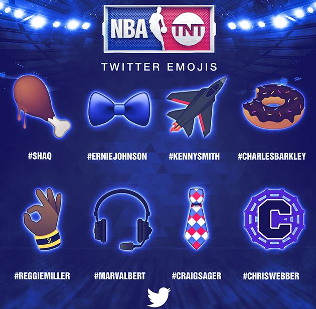 NBA All-Star Emojis TNT crew