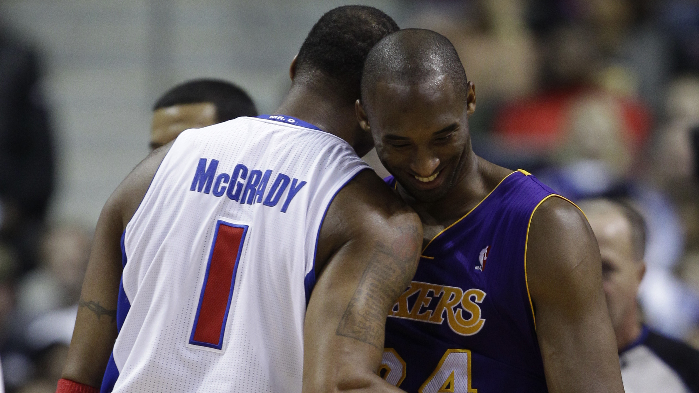 Kobe Bryant Tracy McGrady says Lakers star is best he ever faced
