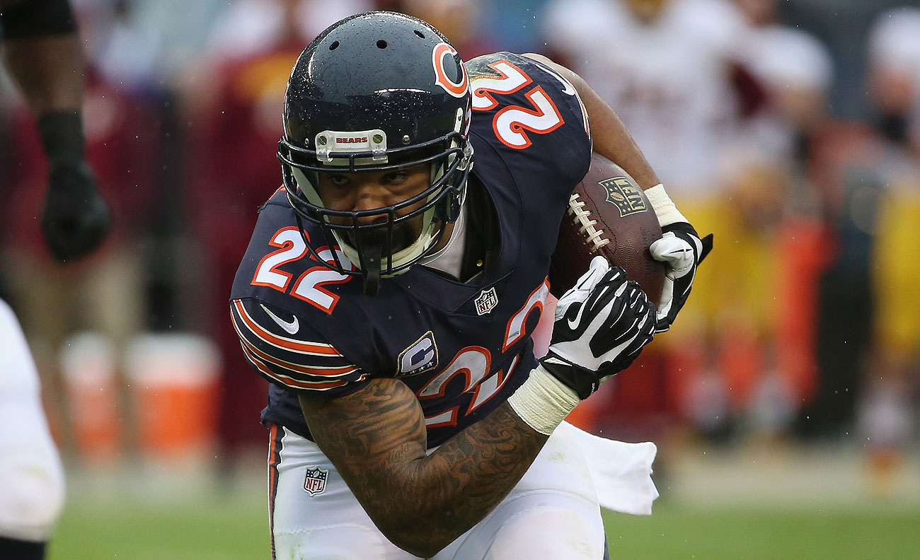 Matt Forte was once praised as 'a very, very complete player' by Bill Belichick before a Bears-Patriots game in 2014. Forte will be a free agent next month.