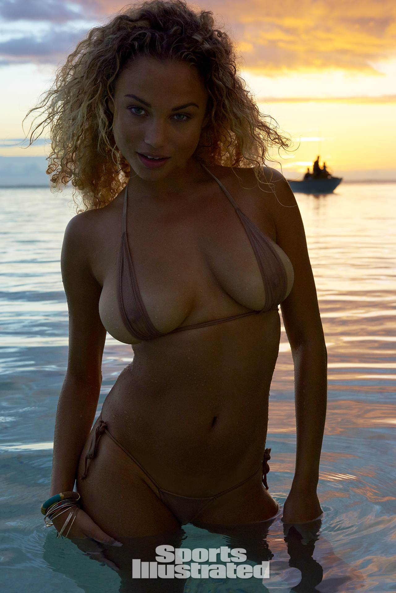 Rose Bertram was photographed by Yu Tsai in The Islands Of Tahiti. Swimsuit by Toxic Sadie Swimwear.