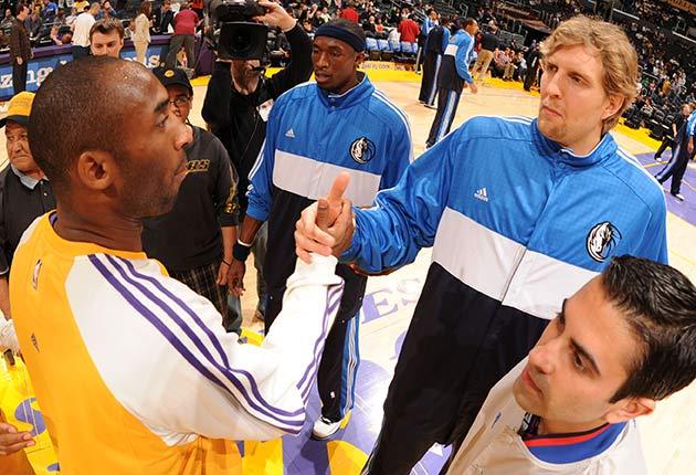 Kobe Bryant and Dirk Nowitzki