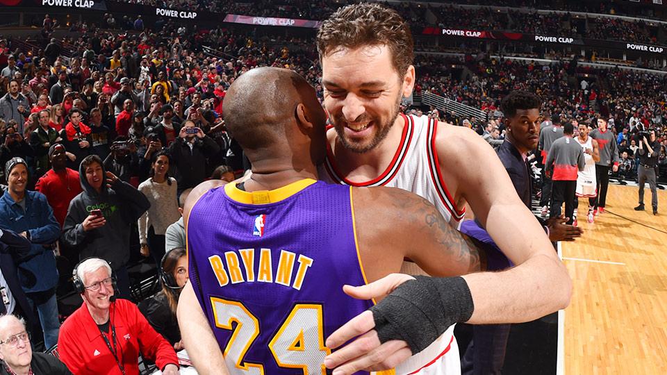 Kobe Bryant Pau Gasol Lakers Bulls