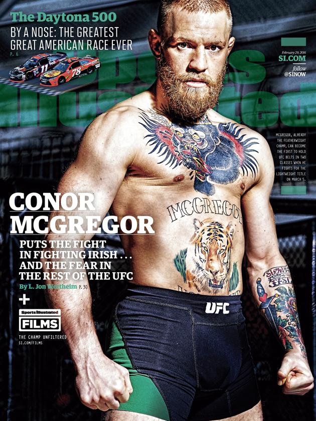 connor mcgregor sports illustrated cover ufc