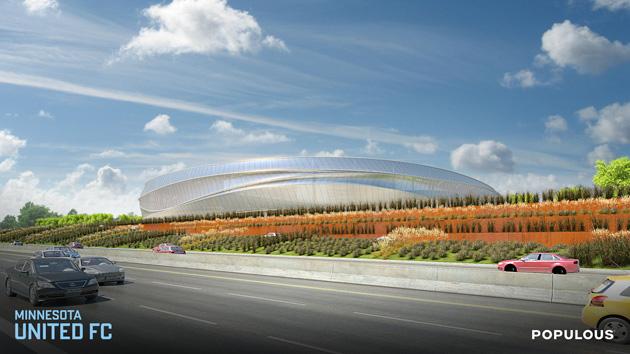 Minnesota's future MLS stadium