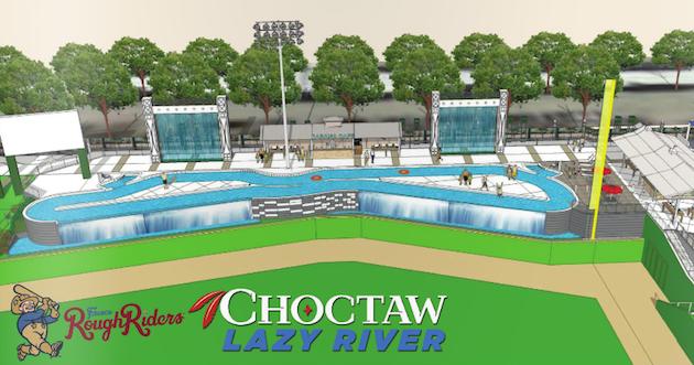 frisco roughriders baseball stadium lazy river