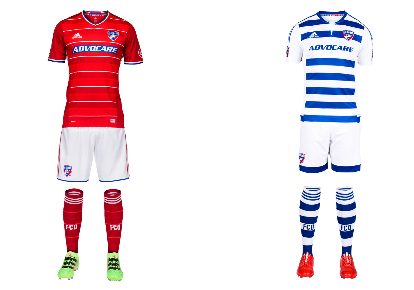 FC Dallas's 2016 MLS uniform