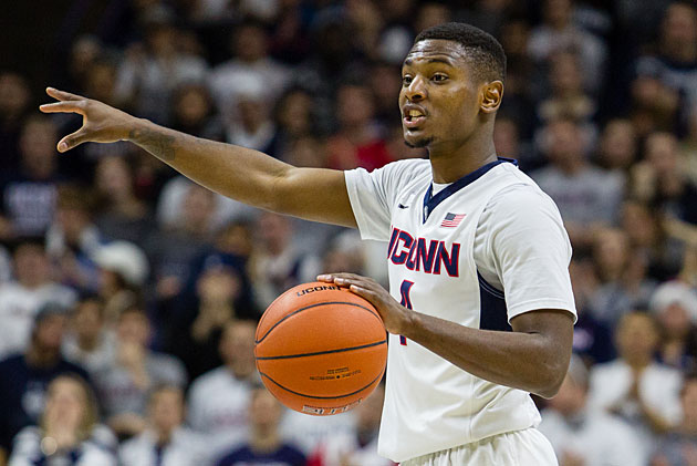 Sterling Gibbs is trying to point UConn toward the NCAA tournament after a one-year absence.