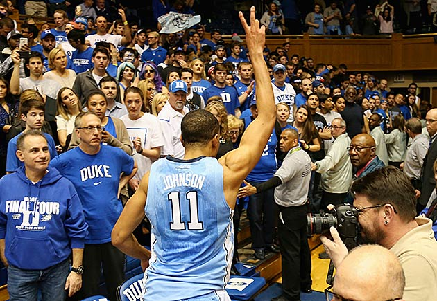 Brice Johnson North Carolina vs. Duke