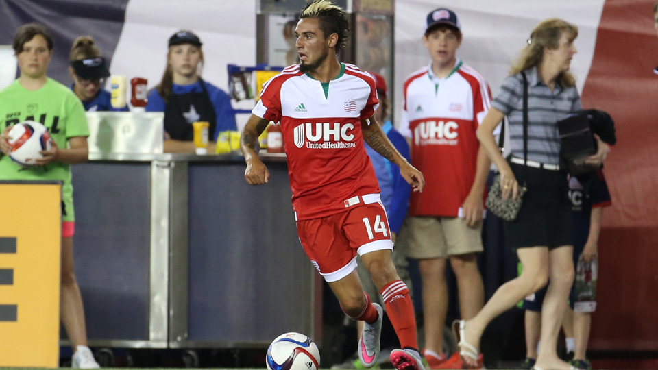Diego Fagundez scored a great goal for New England