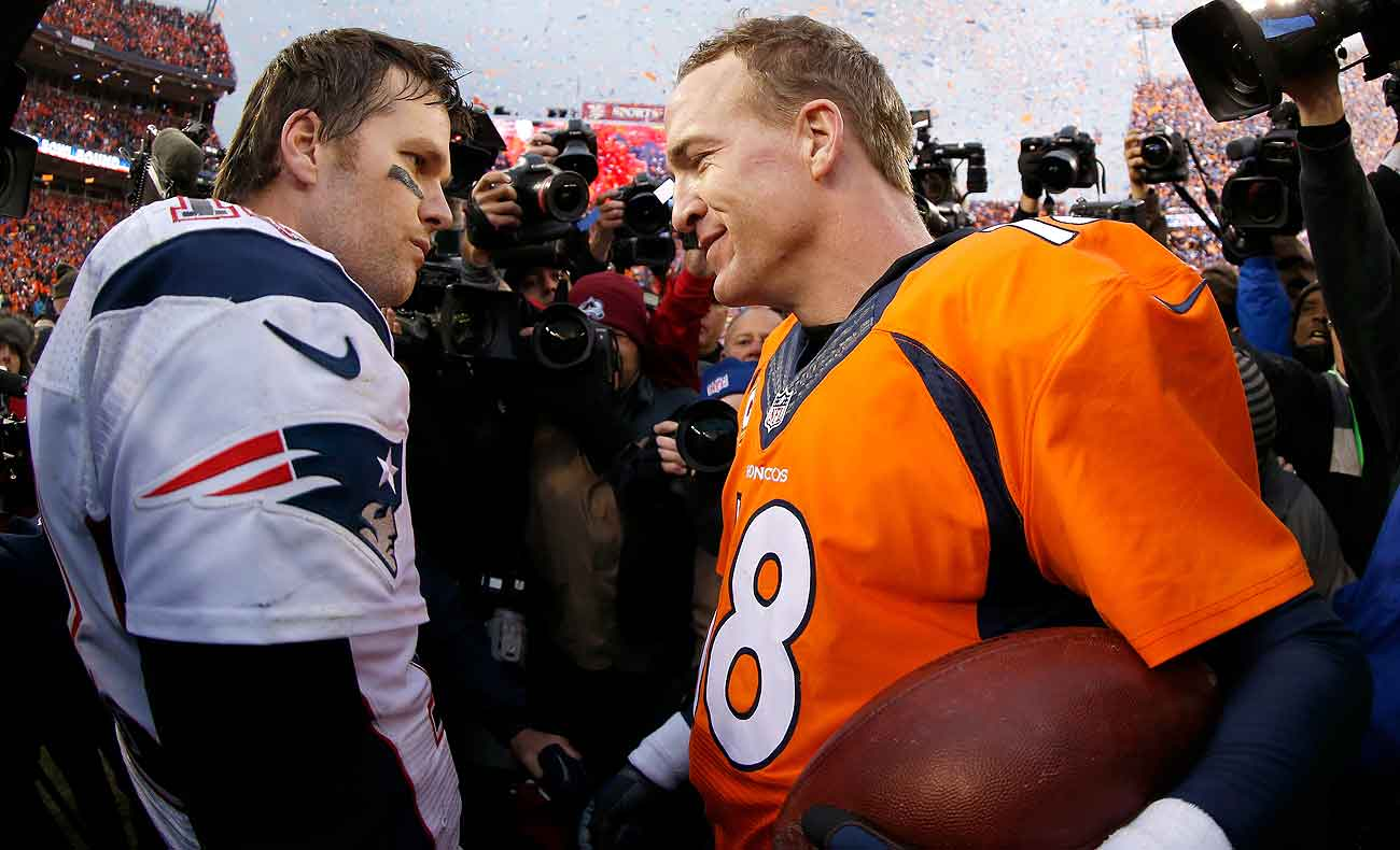 Six days before Manning decided to retire three weeks shy of turning 40, Brady signed a contract extension that runs through 2019, when he'll be 42.