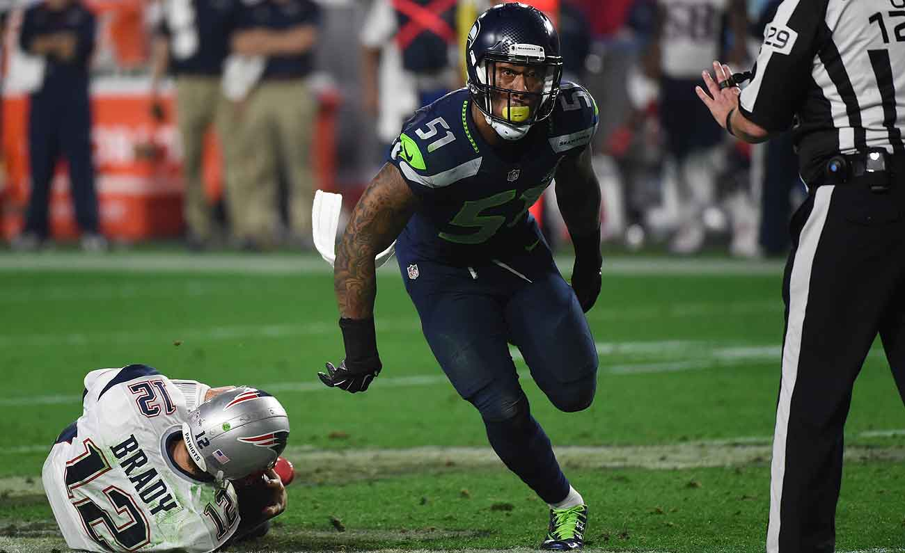 Bruce Irvin is one of several impact pass rushers who will be available in free agency.