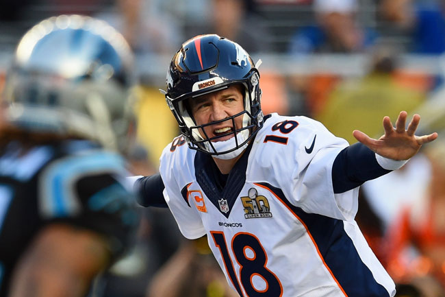 Like a conductor presiding over an orchestra, Peyton Manning was a maestro at the line of scrimmage.