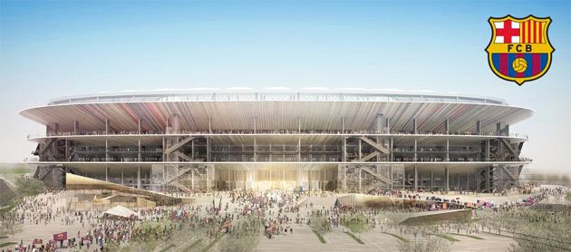 Barcelona's new stadium