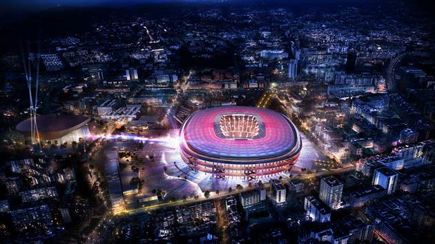 Barcelona's new stadium designs