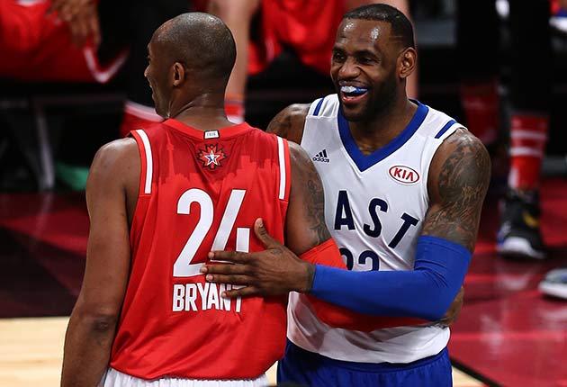c3062ce7eae Kobe Bryant vs. LeBron James  NBA rivalry that never was