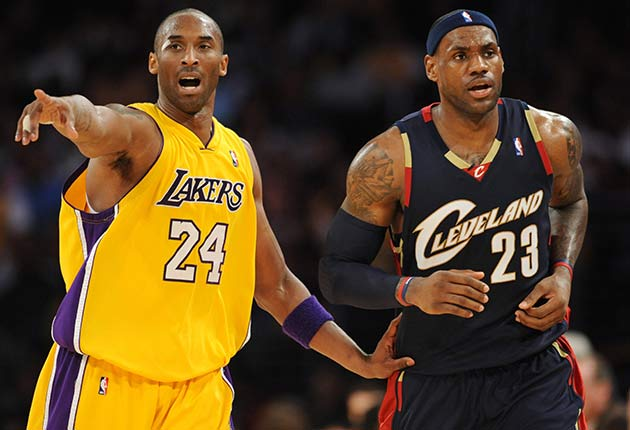 Kobe Bryant vs. LeBron James  NBA rivalry that never was  8c5651b7a