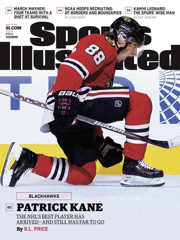 sports illustrated cover chicago blackhawks patrick kane