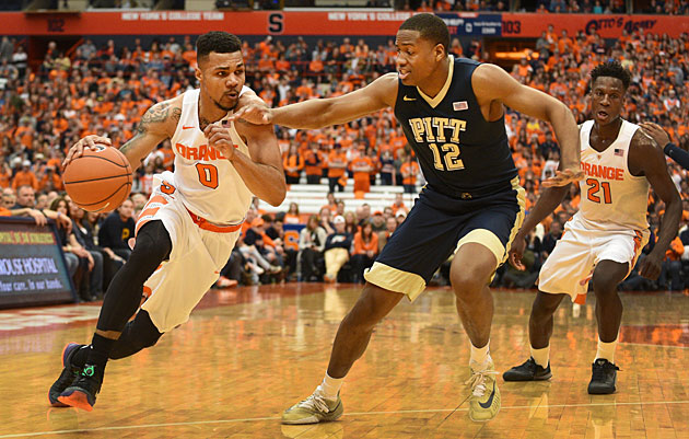 Syracuse Orange and Pittsburgh Panthers