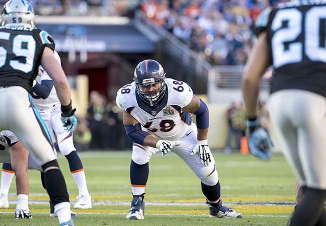 Chris Harris was among the underwhelming left tackle talent that played deep into the playoffs.