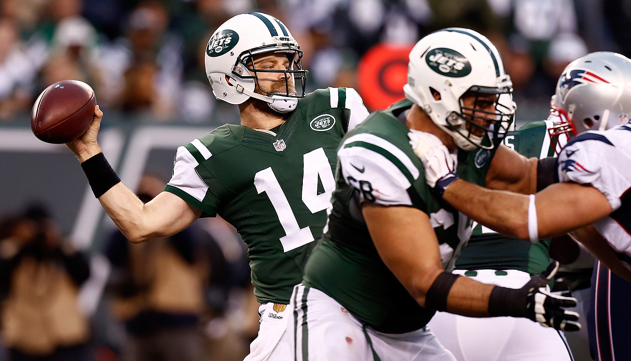 The Jets are Ryan Fitzpatrick's sixth team in his 11-year career in the NFL.
