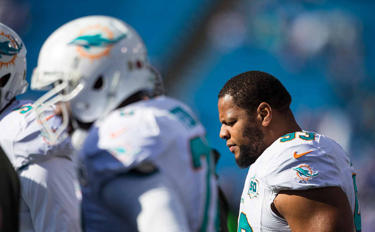 After letting Ndamukong Suh head to the Dolphins in free agency last offseason, the Lions got the 95th overall pick in this year's draft as compensation.