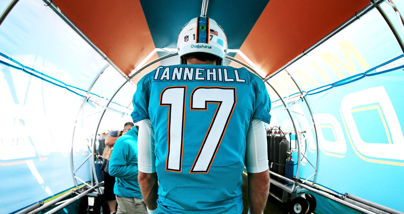 Ryan Tannehill of the Dolphins.
