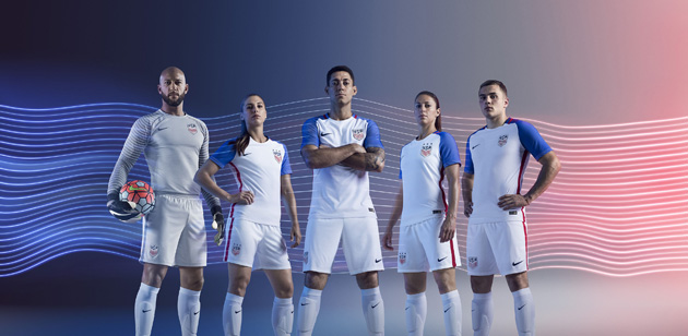 New U.S. Soccer jerseys