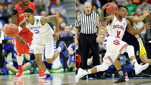 Tyler Ulis, Kentucky Wildcats; Yogi Ferrell, Indiana Hoosiers