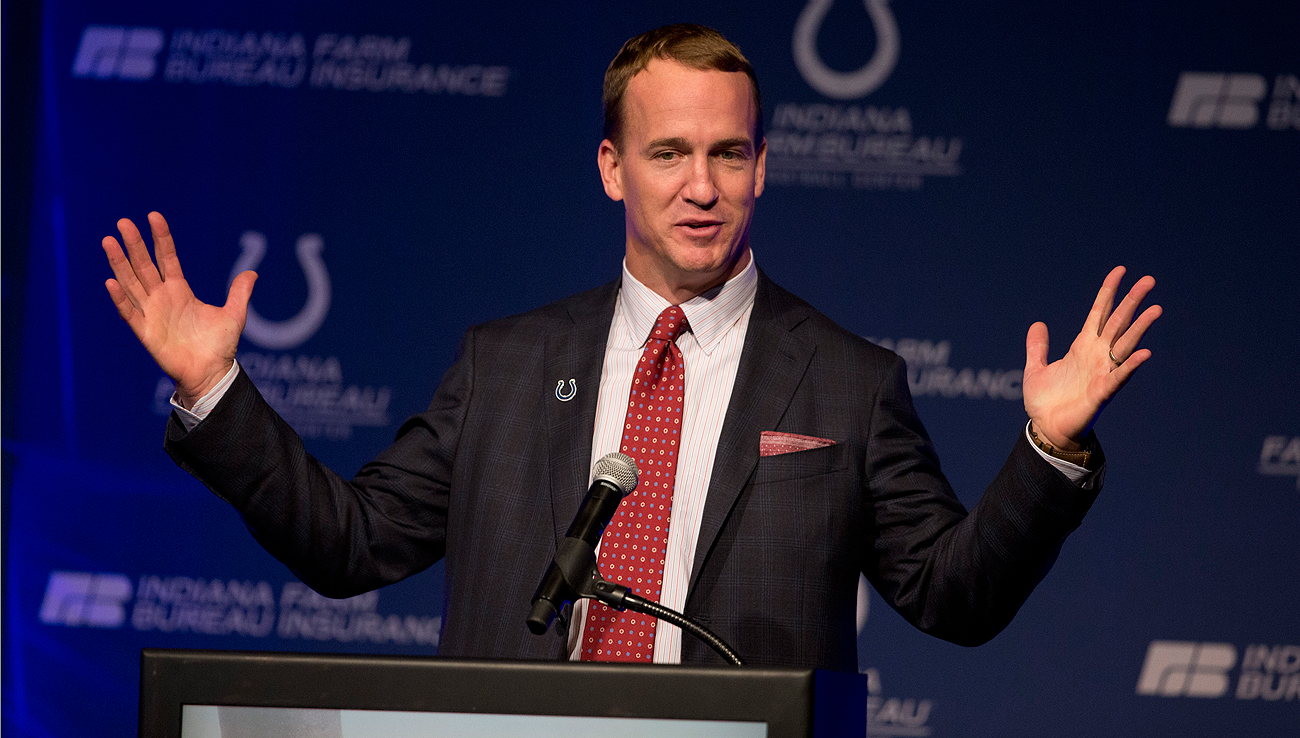 The Colts feted Peyton Manning in a ceremony last Friday. The team announced it would retire his jersey and erect a statue of the QB at Lucas Oil Stadium.