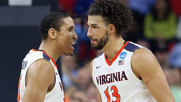 Malcolm Brogdon and Anthony Gill, Virginia Cavaliers