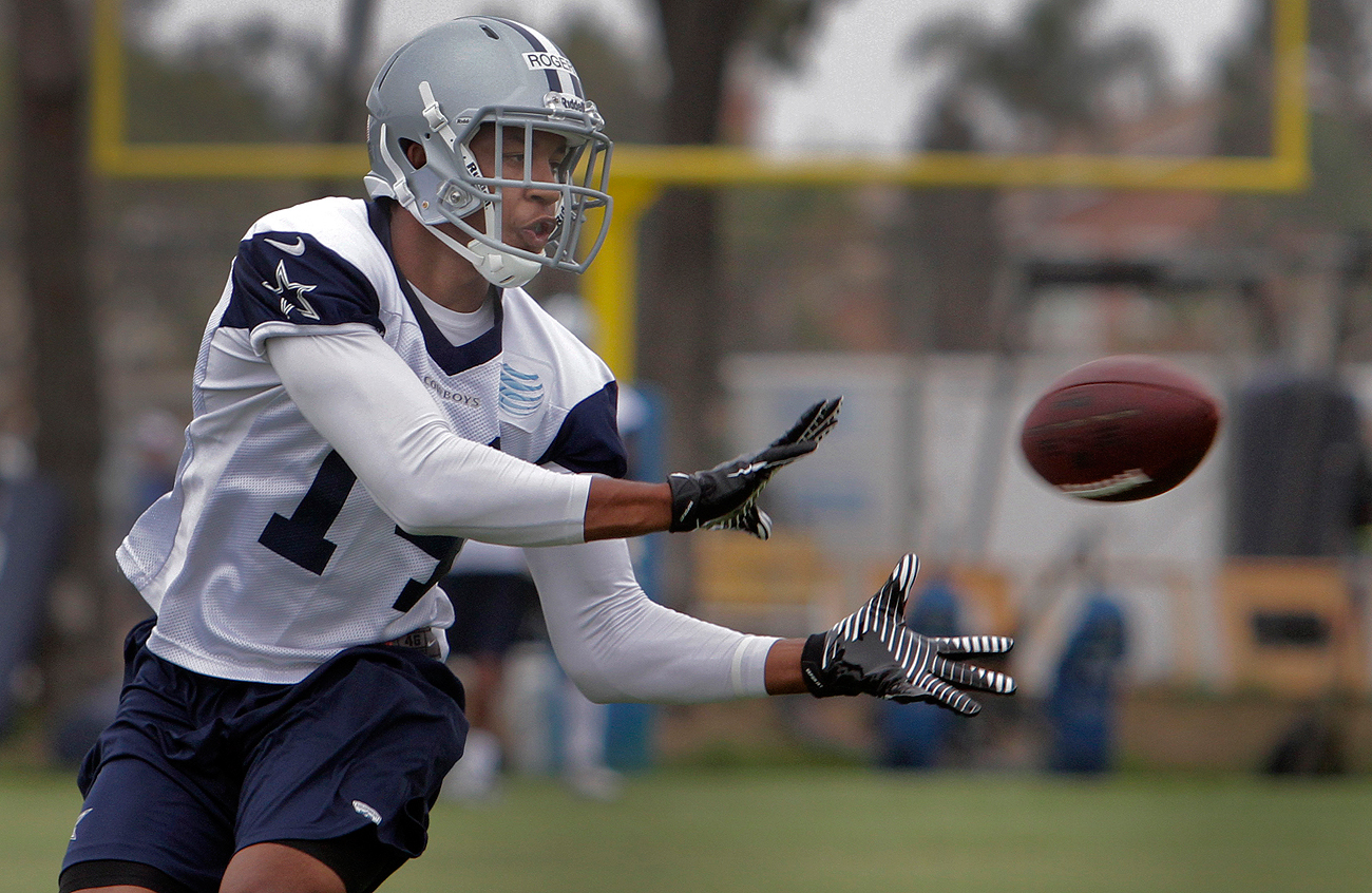 Eric Rogers was in Cowboys camp in 2013 as an undrafted free agent but was cut before the season started.