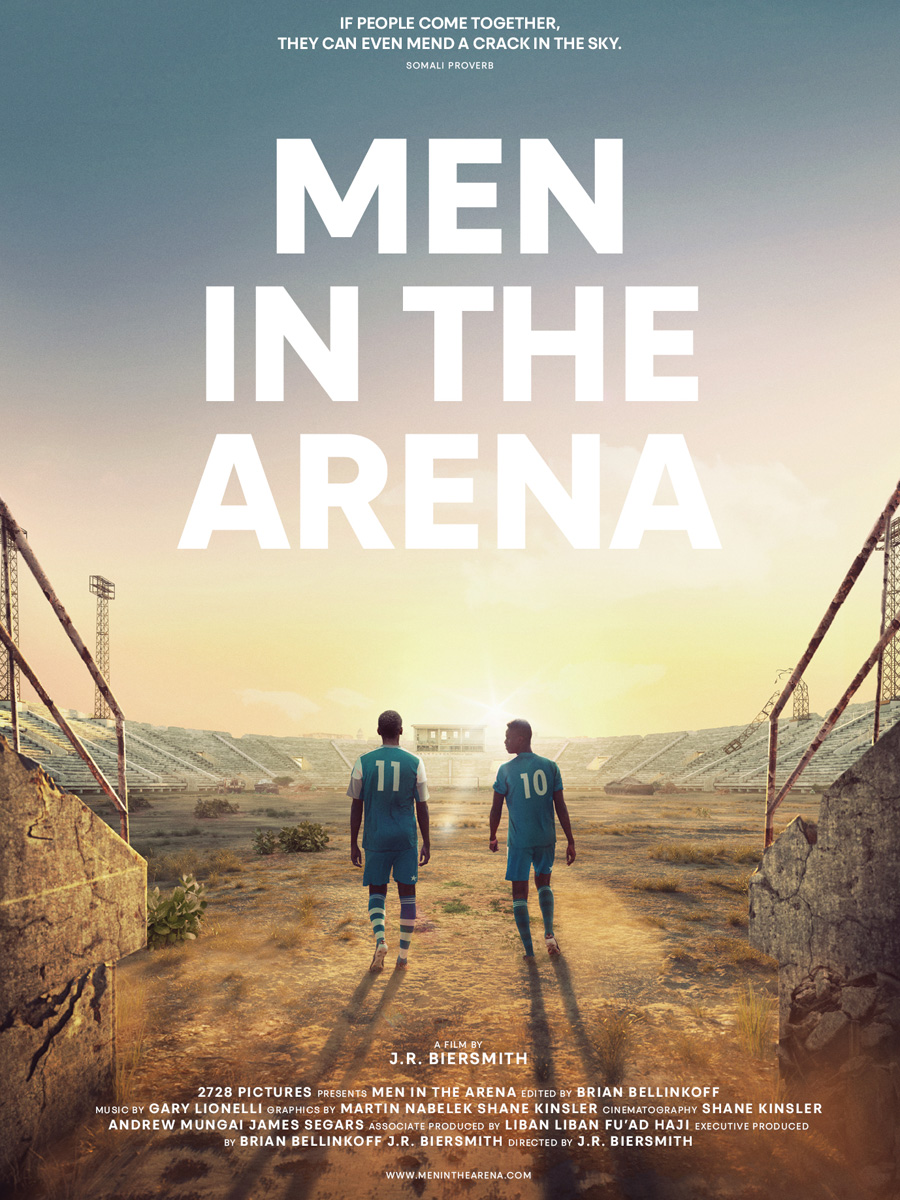 "Sa'ad Hussein and Saadiq Mohammed have their stories as the focus of the documentary ""Men In The Arena."""