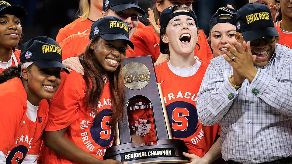 Women S Ncaa Tourney Syracuse Washington Reach First Final Four