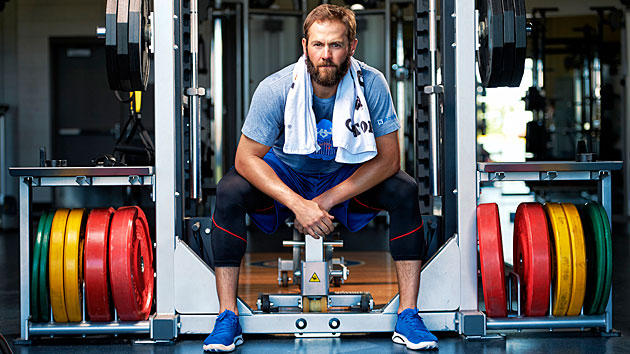Jake Arrieta embraced a new workout routine that helped him turn in a historic season in 2015.